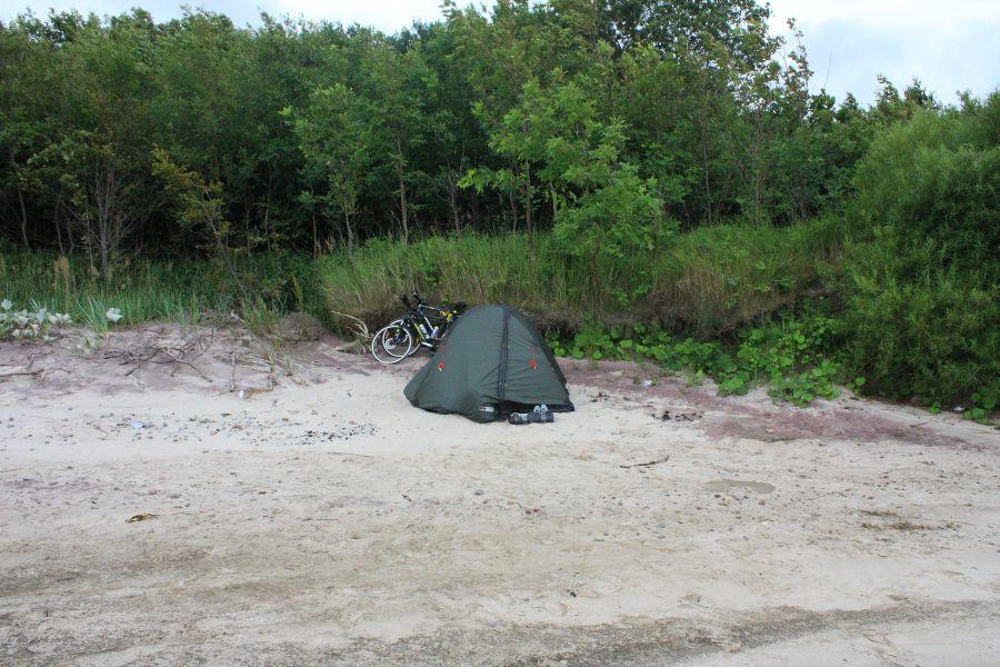 namiot na plazy