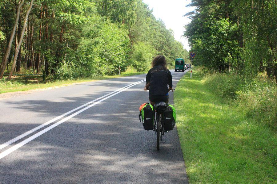 rowerem dpo wolinskim parku narodowym