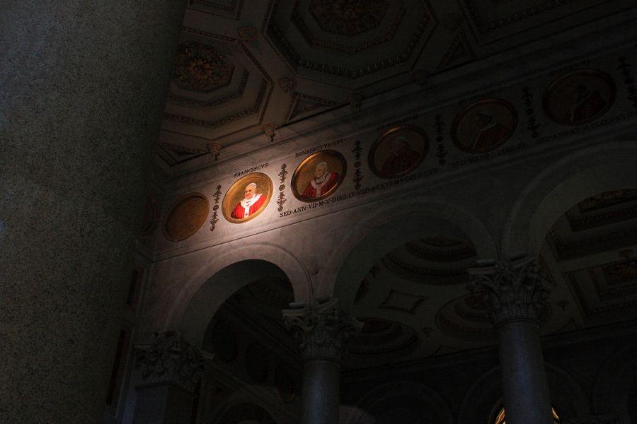 medaliony w bazylice św pawła