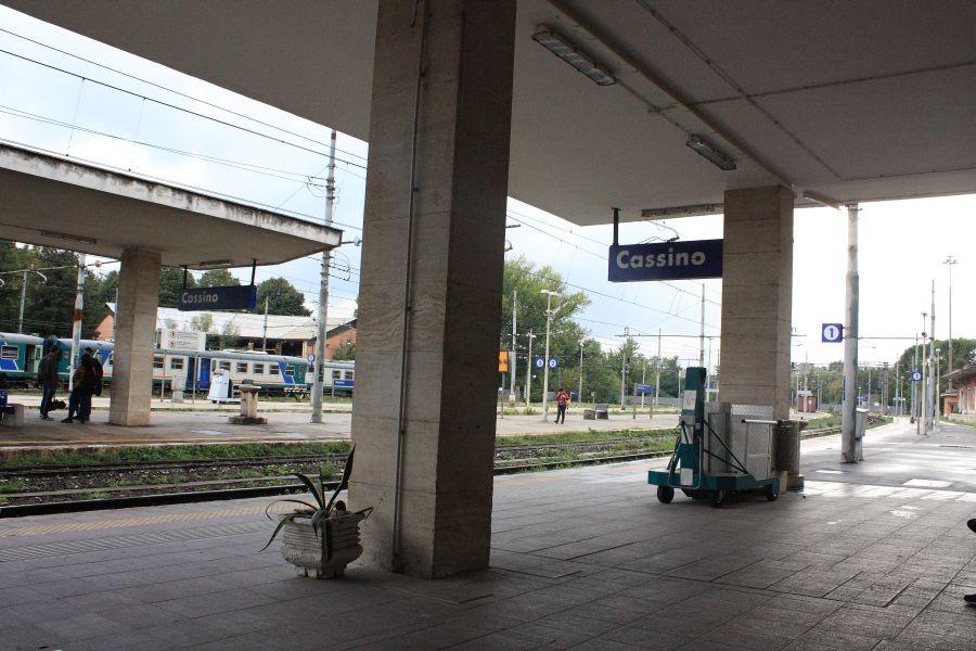 dworzec kolejowy Cassino
