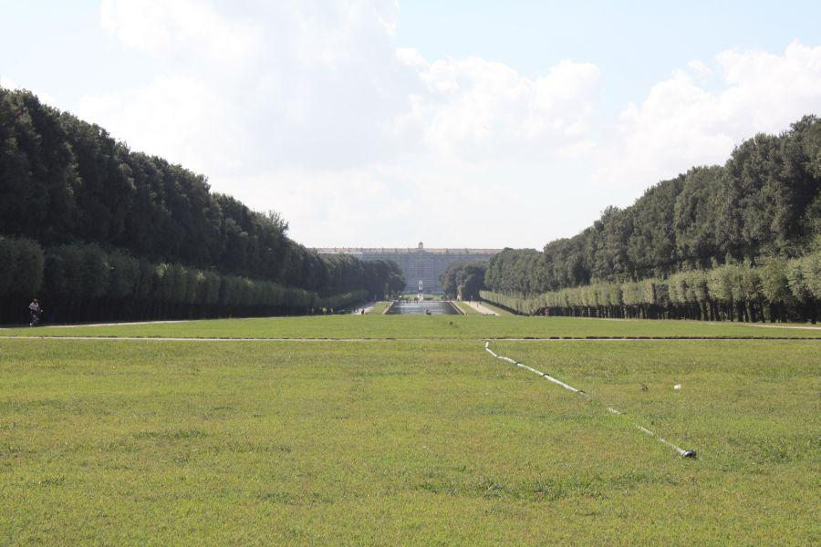 Caserta widok na pałac