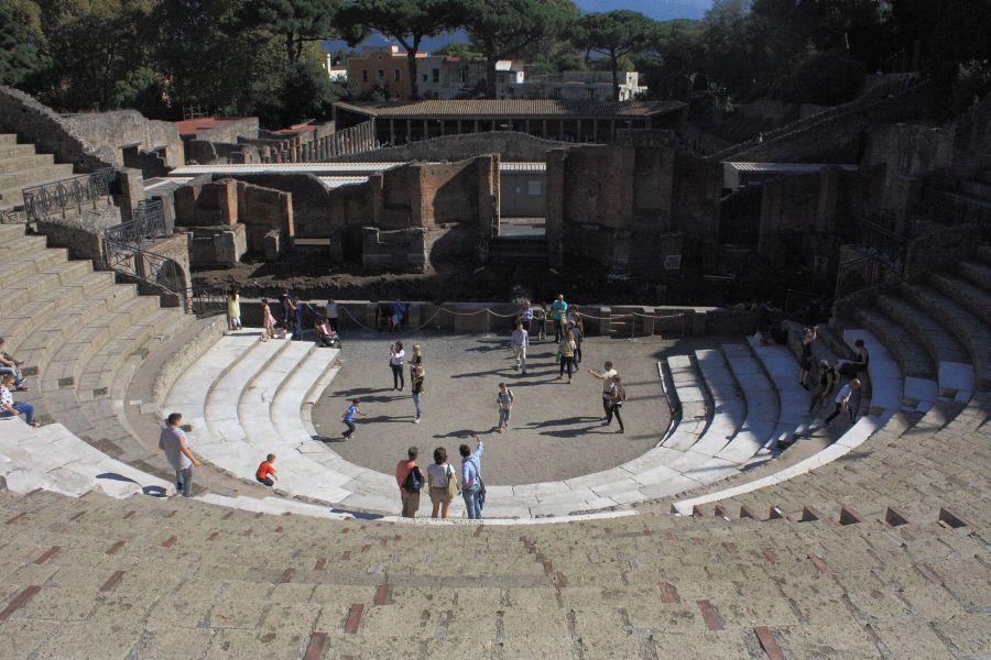 Pompeje amfiteatr