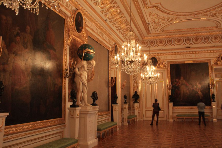 Zamek Królewski sala rycerska