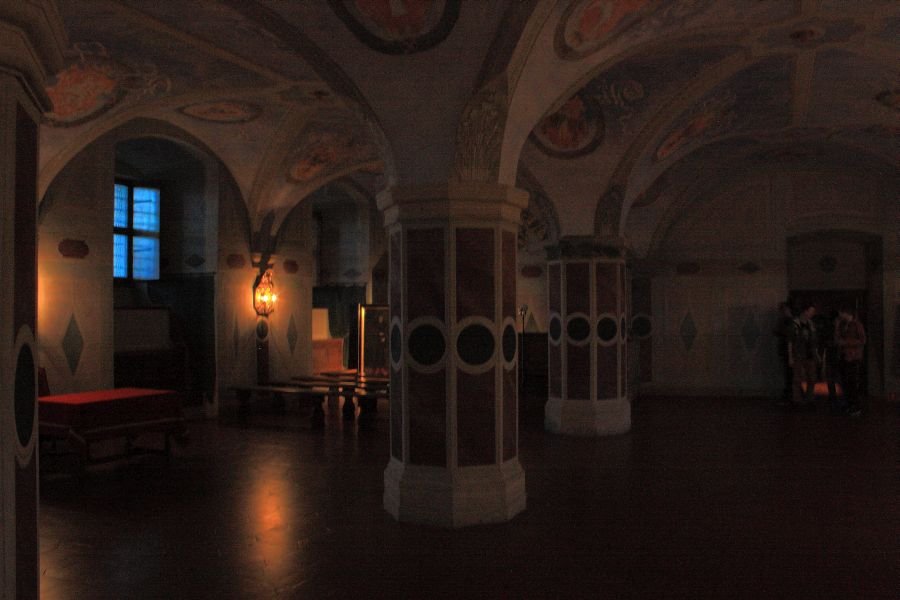 Zamek Królewski sala sejmowa