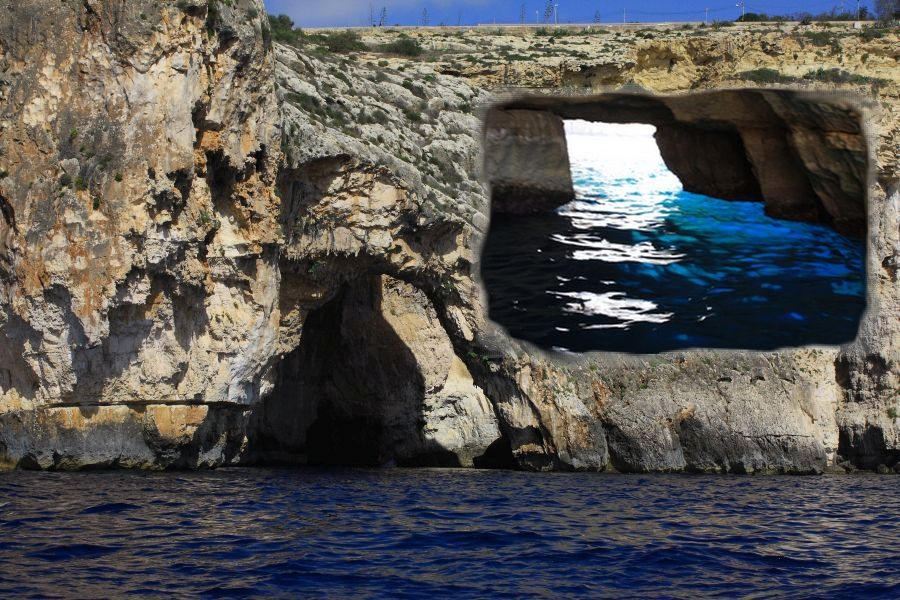 Blue Grotto jaskinia