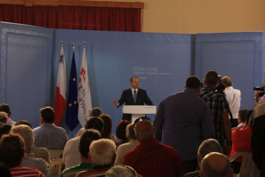 Marsaxlokk spotkanie z premierem