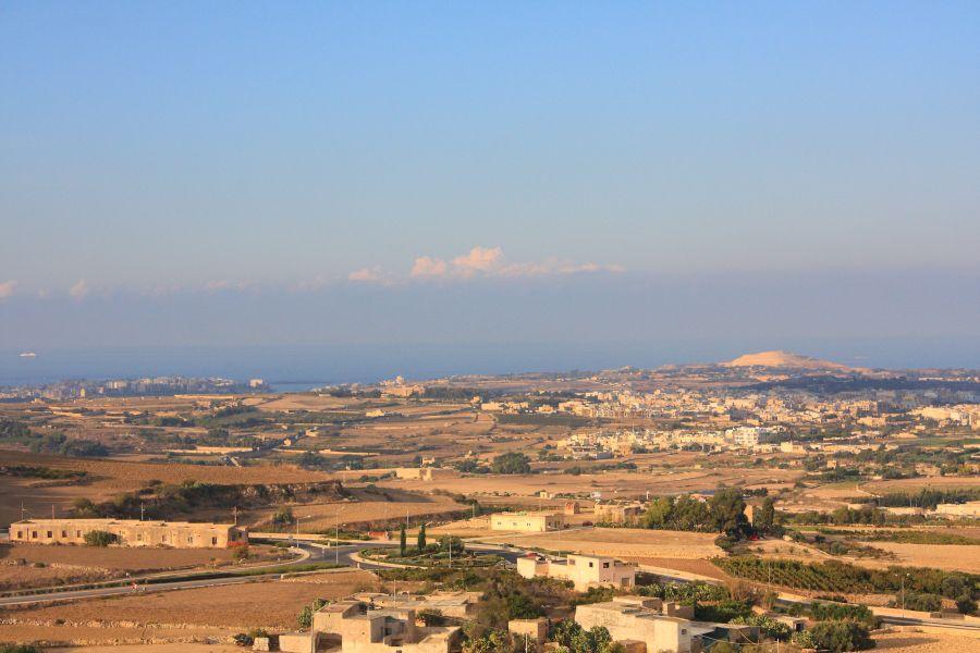 Mdina widok na Maltę