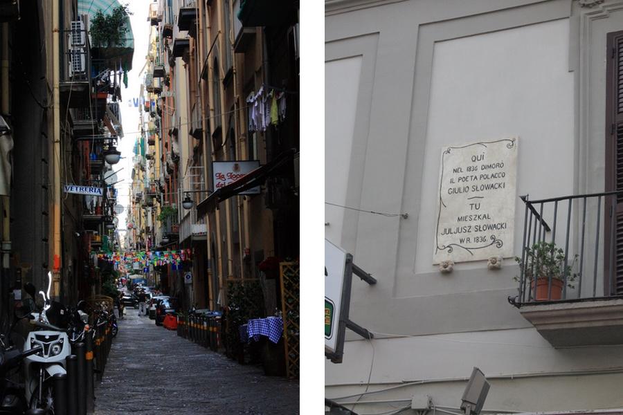 Neapol dzielnica hiszpańska Słowacki