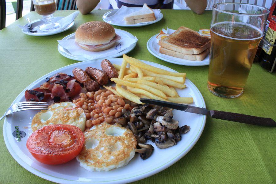 malta angielskie śniadanie
