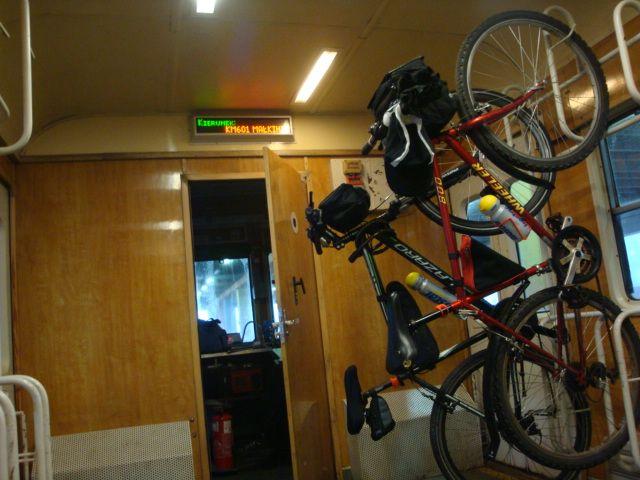 rower kolejami mazowieckimi