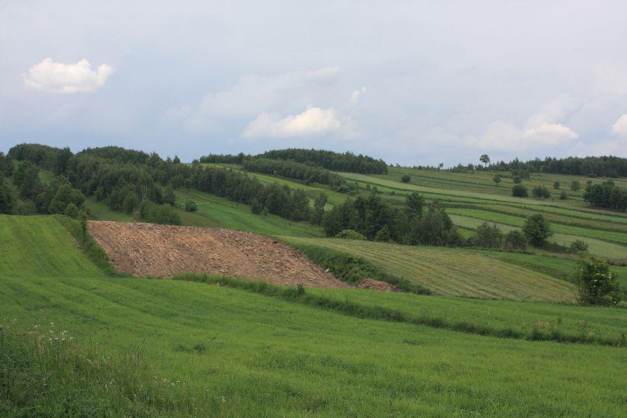 Góry Świętokrzyskie widok1